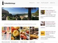Cellar & Bottega Website Screenshot