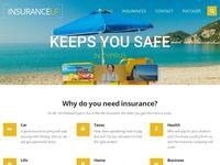 Insurance LF Website Screenshot