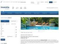 Investia Estates Website Screenshot