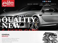 Elite Motors Website Screenshot