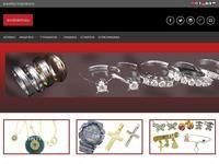 Evdokimou Jewellery Website Screenshot