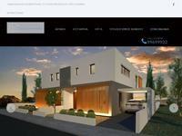 G.C.A Elegant Homes Website Screenshot