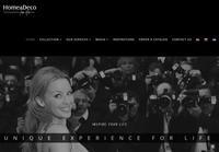 Home & Deco Website Screenshot