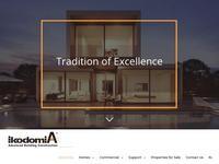 Ikodomia Website Screenshot