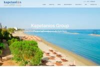 Kapetanios Developments Website Screenshot