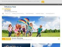 Orthodoxou Travel Website Screenshot
