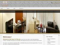 Lordos Hotel Apartments Nicosia Website Screenshot