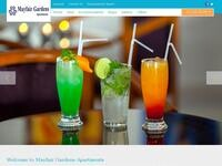 Mayfair Hotel Paphos Website Screenshot