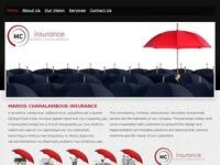 Marios Charalambous Insurance Website Screenshot