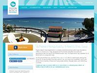 Pigeon Beach Hotel Apartments Website Screenshot
