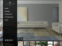 Redcube Furniture Website Screenshot