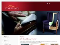 StarBlinds Website Screenshot