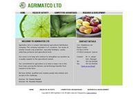Agrimatco Website Screenshot