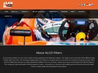 ALCO Filters Website Screenshot