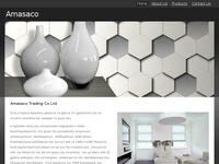 Amasaco Trading Website Screenshot