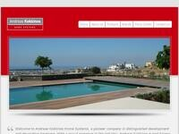 Andreas Kokkinos Home Systems Website Screenshot
