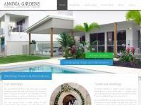 Annivia Garden Centre Website Screenshot