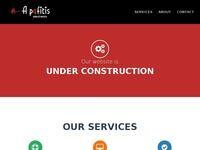 A. Pafitis Electronis LTD Website Screenshot