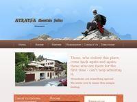 Atratsa Mountain Apartments-Suites Website Screenshot