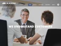 Axiom Consulting Website Screenshot