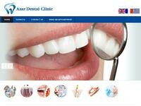 Azar Dental Clinic Website Screenshot