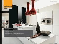Biennale Kitchens Website Screenshot