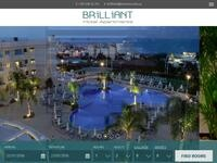 Brilliant Hotel Apartments Website Screenshot