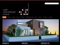Code Architecture Studio Website Screenshot