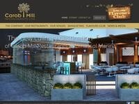 Carob Mill Restaurant Website Screenshot