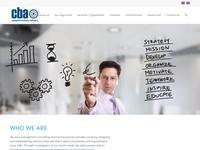 CBA Business Advisors Website Screenshot