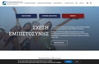Commercial General Insurance Website Screenshot