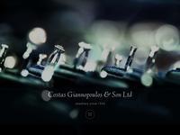 Costas Giannopoulos & Son Ltd Website Screenshot