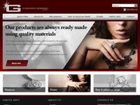 Christakis Georgiou Jewellery Website Screenshot
