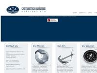 Chrysanthou Maritime Services Ltd Website Screenshot