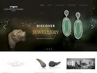 Constantinos Jewels Website Screenshot