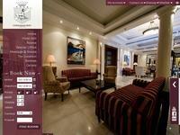 Curium Palace Hotel Website Screenshot