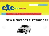 CXC Toys Website Screenshot