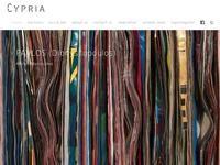 Cypria Auctions Website Screenshot