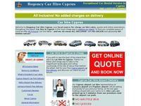 Regency Car Hire Website Screenshot