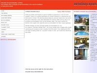Petrides Holiday Villa Website Screenshot
