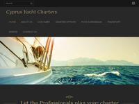 Cyprus Yacht Charters Website Screenshot