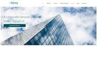 Dema Services Website Screenshot