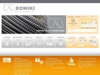 Domiki Ltd Website Screenshot
