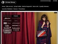 Ermes Group Website Screenshot
