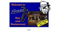 Franx Bar and Restaurant Website Screenshot