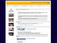 Global Center of Independent Studies Website Screenshot