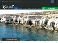 Genesis Property Sales Website Screenshot