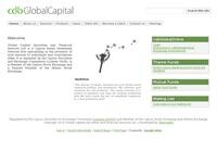 Global Capital Website Screenshot