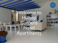 Hilltop Gardens Website Screenshot