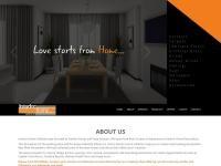 GoldFlo Interior Home Collection Website Screenshot
